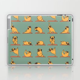 Pug Yoga Laptop & iPad Skin