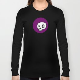 Purple King of Skulls Long Sleeve T-shirt