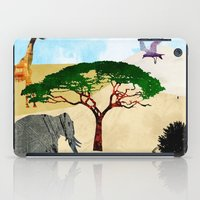 safari iPad Cases featuring Safari by Design4u Studio