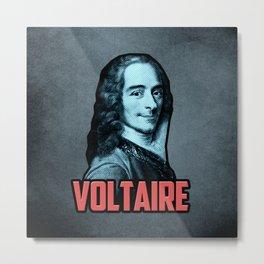 Voltaire Metal Print