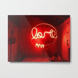 ''Love expossure'' - Amor exposição Metal Print