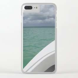 To La Isla Saona Clear iPhone Case