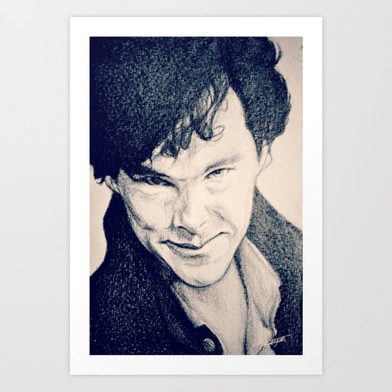 Sherlock - THE EMPTY HEARSE Art Print