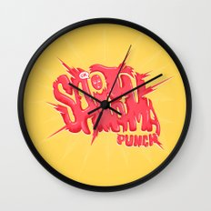 Just An Average Punch Wall Clock