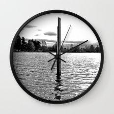 Scenic solitude Wall Clock
