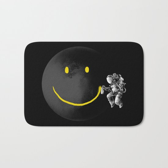 Make a Smile Bath Mat