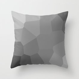 black background Throw Pillow