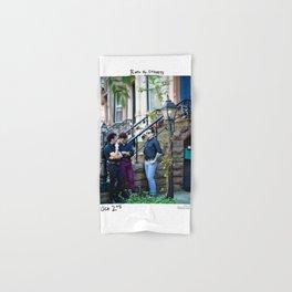 Birds in the Boneyard, Print 22: Birds in the Streets Hand & Bath Towel
