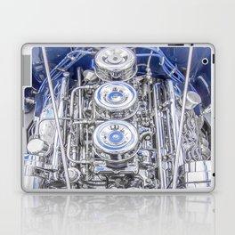 Hot Rod Blue, Automotive Art with Lots of Chrome by Murray Bolesta Laptop & iPad Skin