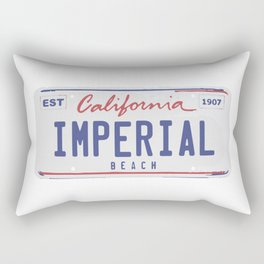 Imperial Beach. Rectangular Pillow