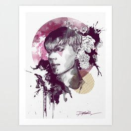 Lovely Boys Series No.1 Art Print
