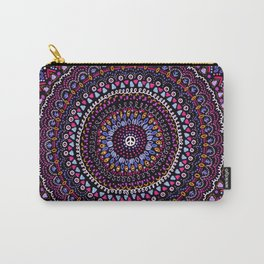 Mandala peace blue pink Carry-All Pouch