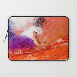 Ball, water, red and children Laptop Sleeve