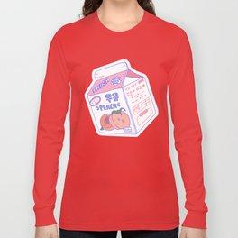 Peach Milk Long Sleeve T-shirt