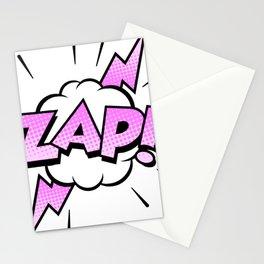Zap Typography! Stationery Cards