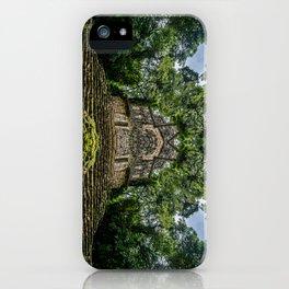 Kaleidoscape: Yaxchilan iPhone Case