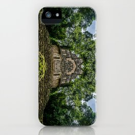Kaleidoscape: Yaxchilan iPhone Case