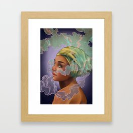 Swirls Framed Art Print