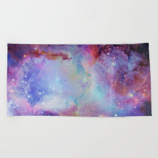 A Galaxy Far Far Away Beach Towel