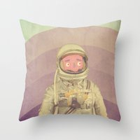 explore Throw Pillows featuring Explore by Pope Saint Victor