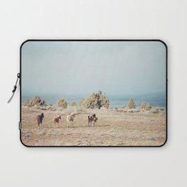 Oregon Wilderness Horses Laptop Sleeve