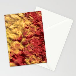 Volcano Spiral Stationery Cards