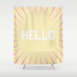 Hello Summer Shower Curtain