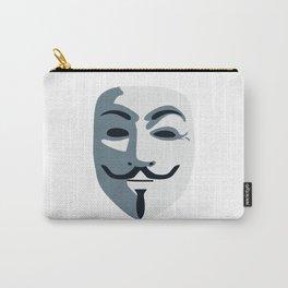 Anonymous Mask #society6 #decor #buyart #artprint Carry-All Pouch