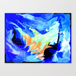 Chartered Oceans Canvas Print