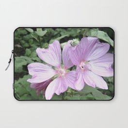 Symphonia flower in pink Laptop Sleeve