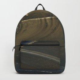 Abstract ship Hull Backpack