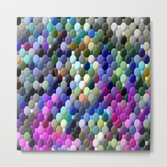 Partyin' with colors... Metal Print