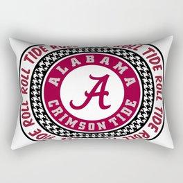 Alabama University Roll Tide Crimson Tide Rectangular Pillow