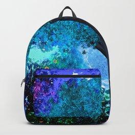TREE MOON NEBULA DREAM Backpack
