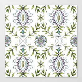 Nature's Damask Canvas Print