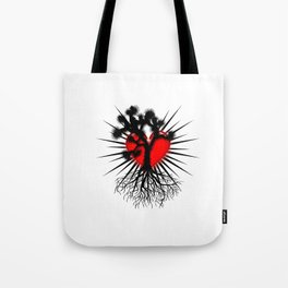 Joshua Tree Heart of the Hi Desert by CEYES Tote Bag