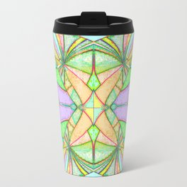 217 - Abstract distressed colourful design Travel Mug