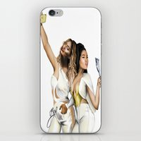 minaj iPhone & iPod Skins featuring ...Carry ON by gMozel