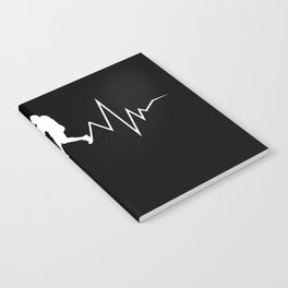 Baseball Heartbeat product Cool Gift for Sport Lovers Notebook