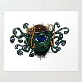Beerholder Art Print