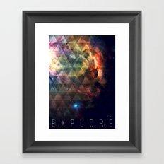 Explore II Framed Art Print