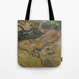 Landscape with Rabbits Tote Bag