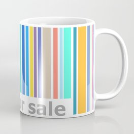 Not For Sale Barcode - Colorful Coffee Mug