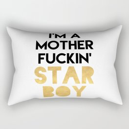 I'M A MOTHERFUCKING STARBOY Rectangular Pillow