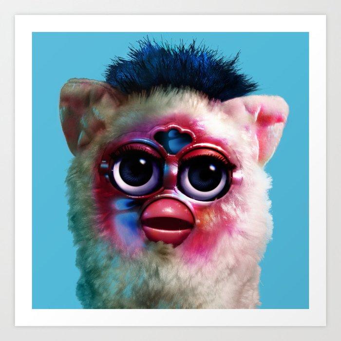Furby FKA Twigs - LP1 Art Print