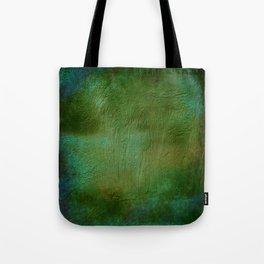 Shades of Deep Green Texture Tote Bag