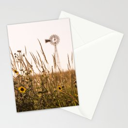 Sunflower Dreams & Windmill Memories... Stationery Cards