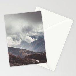 Waiting for the sun - Landscape and Nature Photography Stationery Cards
