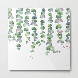 Eucalyptus Garland 2  Metal Print