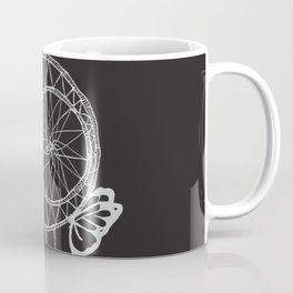 Dream Catcher B/W Coffee Mug